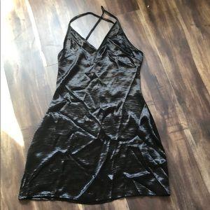 Dresses & Skirts - Black velvet and silky feeling sexy dress